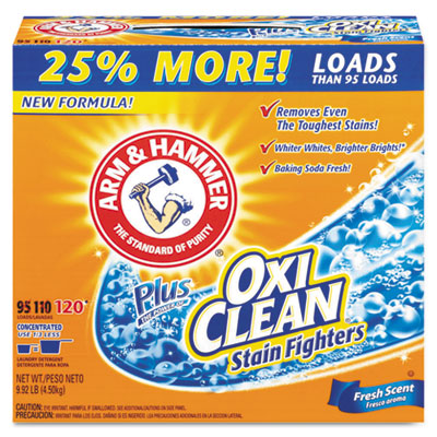 Arm & Hammer Plus the Power of Oxiclean Powder Detergent