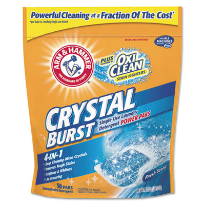 Arm & Hammer Crystal Burst Power Paks