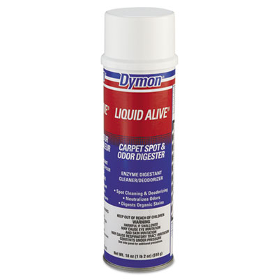 Dymon LIQUID ALIVE Enzyme Digestant Carpet and Textile Cleaner/Deodorizer