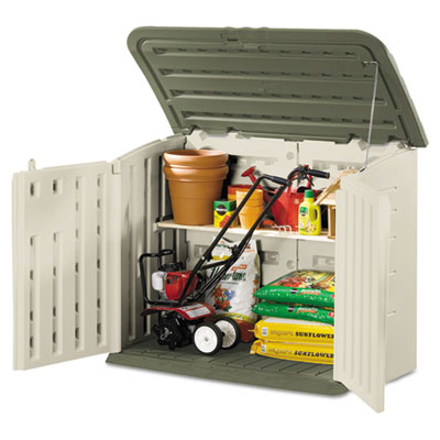 Rubbermaid Large Horizontal Outdoor Storage Shed