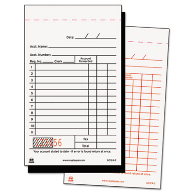 Royal Sales Receipt Book