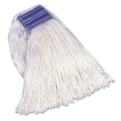 Rubbermaid Commercial Non-Launderable Cotton/Synthetic Cut-End Wet Mop Heads