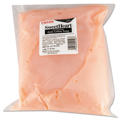 Sweetheart Pink Lotion Soap