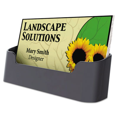 Universal Recycled Plastic Business Card Holder