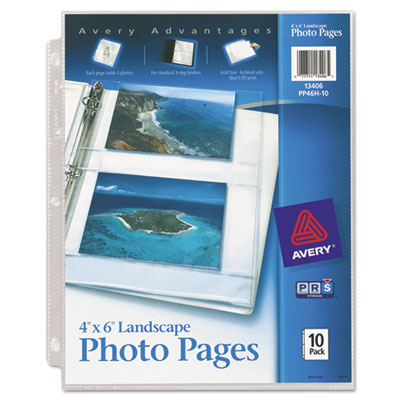 Avery Photo Pages