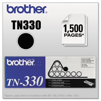 Brother TN330 Toner, Standard Yield