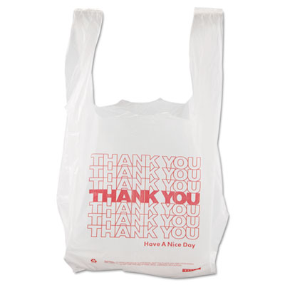 Barnes Paper Company Thank You High-Density Shopping Bags