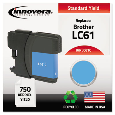Innovera LC61BK, LC61C, LC61M, LC61Y Ink