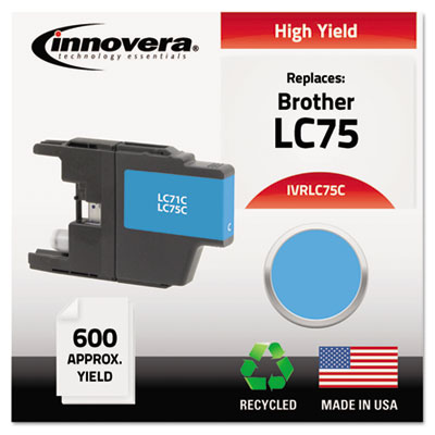 Innovera LC75BK, LC75C, LC75M, LC75Y Ink