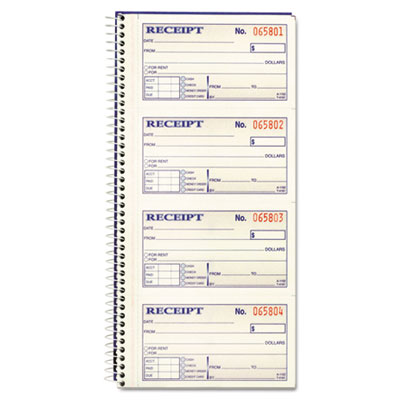 Adams 2-Part Receipt Book