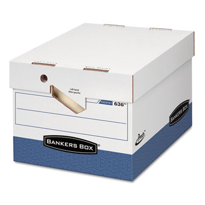Bankers Box PRESTO Ergonomic Design Storage Boxes