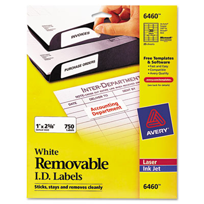 Avery Removable Multi-Use ID Labels