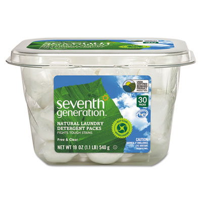 Seventh Generation Natural Laundry Detergent Packs