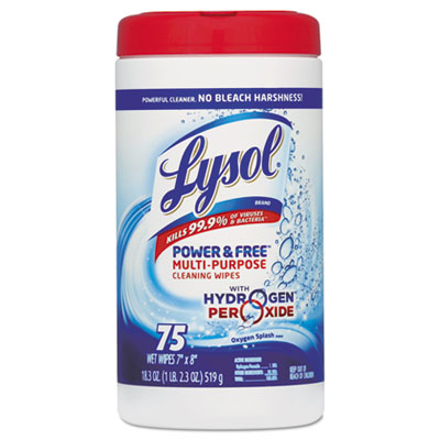LYSOL Brand Power & Free Multi-Purpose Cleaning Wipes