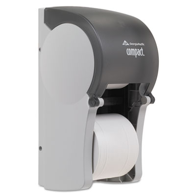 Georgia Pacific Professional Compact Vertical Double Roll Coreless Tissue Dispenser