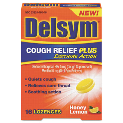 Delsym Cough Relief Plus Lozenges