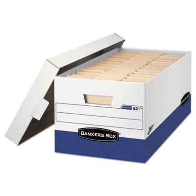 Bankers Box PRESTO Heavy-Duty Storage Boxes
