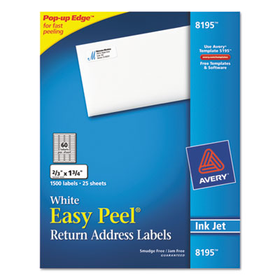 Avery Easy Peel Address Labels