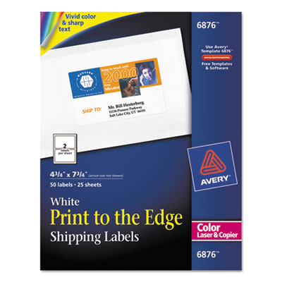 Avery Print-to-the-Edge Mailing Labels