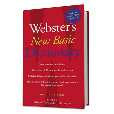 Houghton Mifflin Webster's New Basic Dictionary
