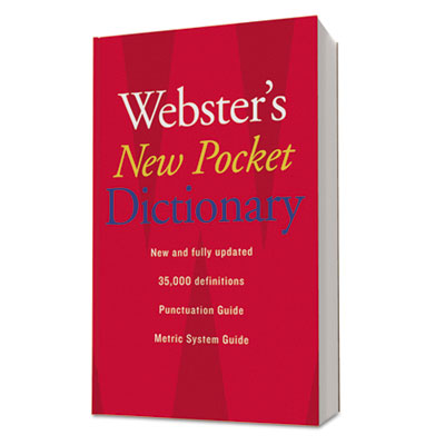 Houghton Mifflin Webster�s New Pocket Dictionary