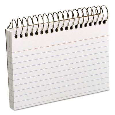 Oxford Spiral bound Index Cards