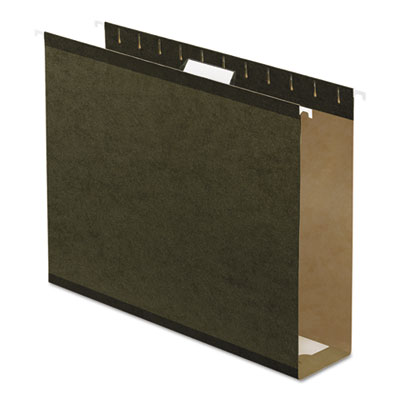 Pendaflex Extra Capacity Reinforced Hanging File Folders with Box Bottom