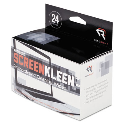 Read Right Notebook ScreenKleen Wipes