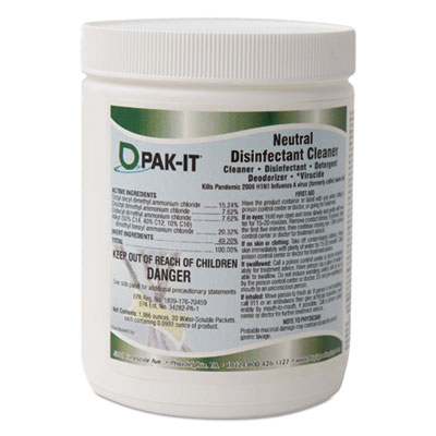 PAK-IT Neutral Disinfectant Surface Cleaner