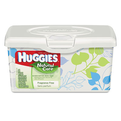 KIMBERLY-CLARK PROFESSIONAL* HUGGIES Natural Care Baby Wipes