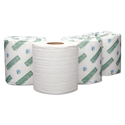 Boardwalk Green Plus Embossed Bathroom Tissue