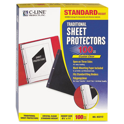 C-Line Traditional Sheet Protector