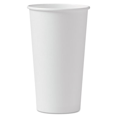 SOLO Cup Company Single-Sided Poly Paper Hot Cups