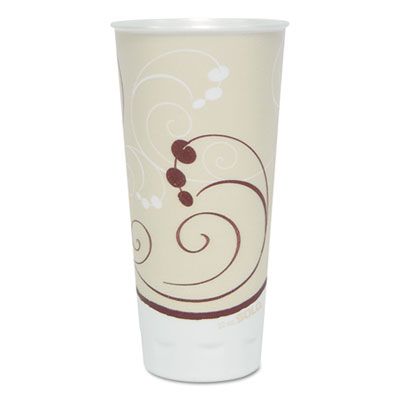 SOLO Cup Company Trophy Plus Dual Temperature Insulated Cups in Symphony Design