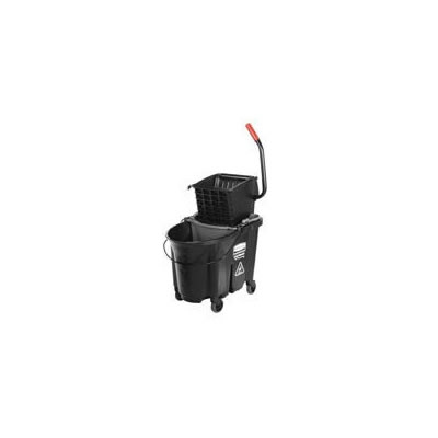 Rubbermaid Commercial Executive WaveBrake Side-Press Mop Bucket