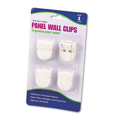 Advantus Wall Clips for Fabric Panels