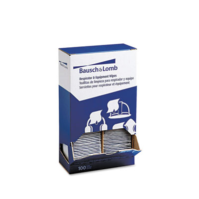 Bausch & Lomb Respirator and Equipment Wipes