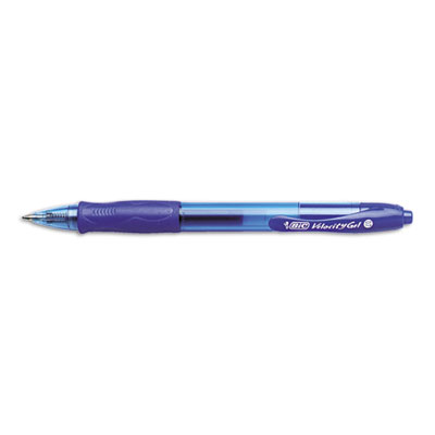 BIC Velocity Retractable Gel Roller Ball Pen
