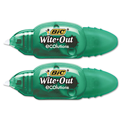 BIC Wite-Out Brand ECOlutions Mini Correction Tape