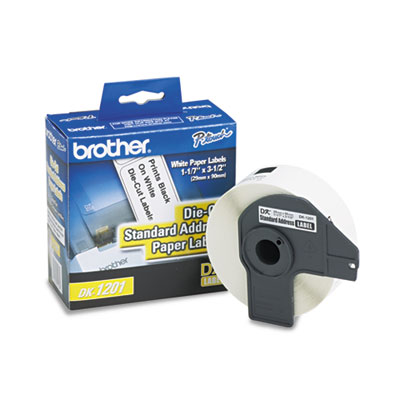 Brother Pre-Sized Die-Cut Label Rolls for QL Label Printers