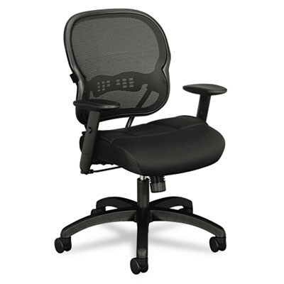 basyx VL712 Mesh Mid-Back Work Chair