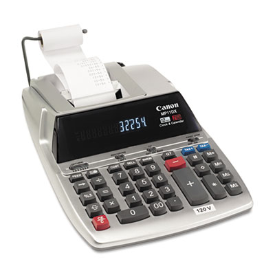 Canon MP11DX Two-Color Printing Desktop Calculator
