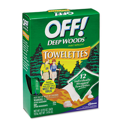 OFF! Deep Woods Towelette