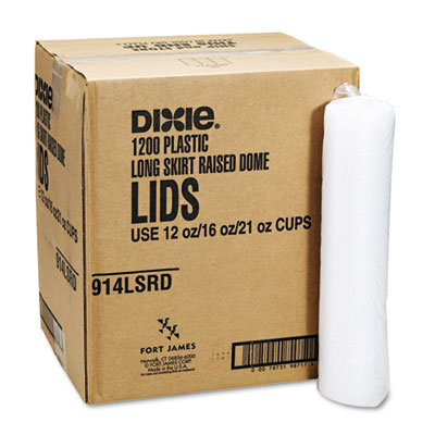 Dixie Plastic Lids for Pathways Cold Cups