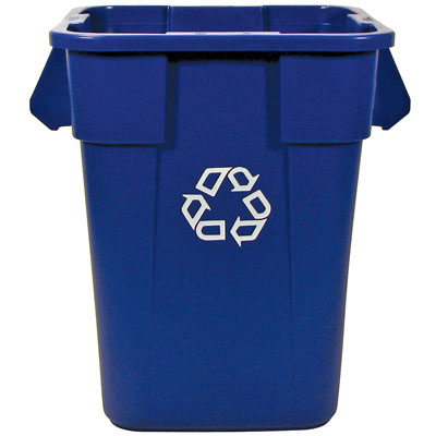 Rubbermaid Commercial Square Brute Recycling Container