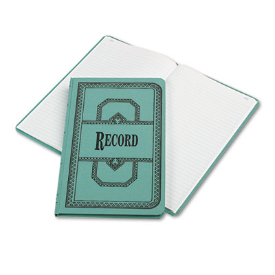 Boorum & Pease Record and Account Book with Blue Cover