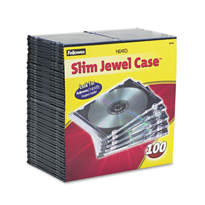 Fellowes Thin Jewel Cases
