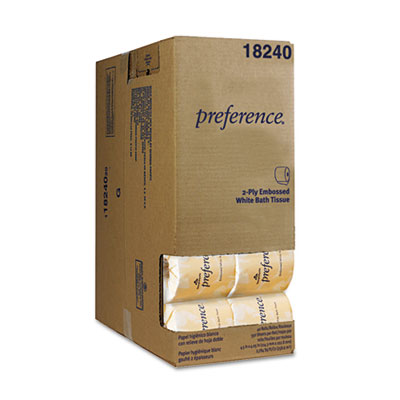 Georgia Pacific Professional preference Embossed Bathroom Tissue in Dispenser Box