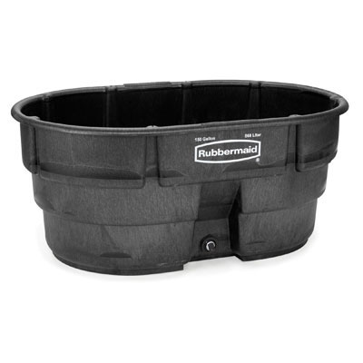 Rubbermaid Commercial Structural Foam Livestock Tank