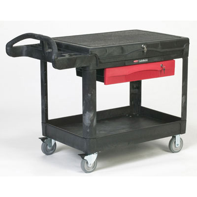 Rubbermaid Commercial TradeMaster Professional Contractor's Cart